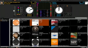 Serato 2.0, album art view