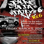"Tonight! ""Back In Da Days"" at Deity"