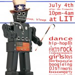 celebrate you indepenDANCE, July 4th, 10pm till… at LIT
