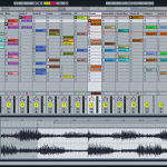 Ableton clip view