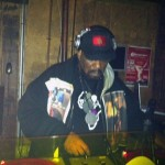 Afrika Bambaataa in the mix