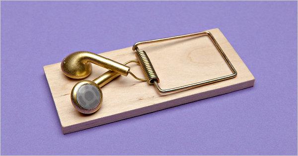 Headphone trap