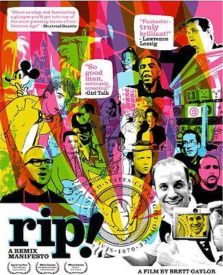 Rip a remix manifesto poster