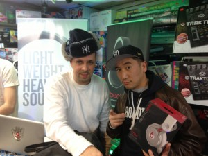 Tony Touch and DJ Shu