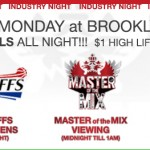 TONIGHT at Bk Stable; CHEAP DRINKS!, Open Turntables, Master of the Mix Viewing, NBA Playoffs