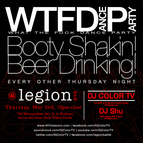 WTFDP at Legion
