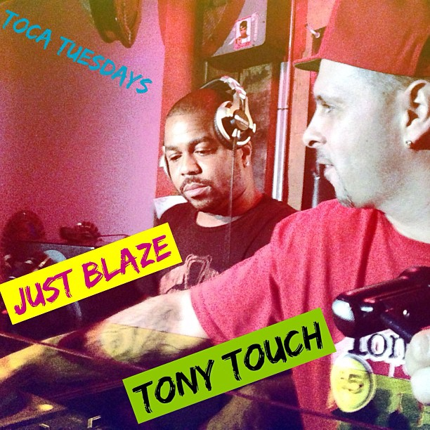 Just Blaze and Tony Touch