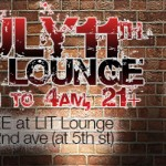 BEWARE OF BANGERS! Special Guest DJ: International Ease. w/ DJ COLOR TV DJ COMBO, July 11th LIT Lounge