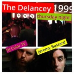 DJ Color TV and Jeremy Bastard at The Delancey