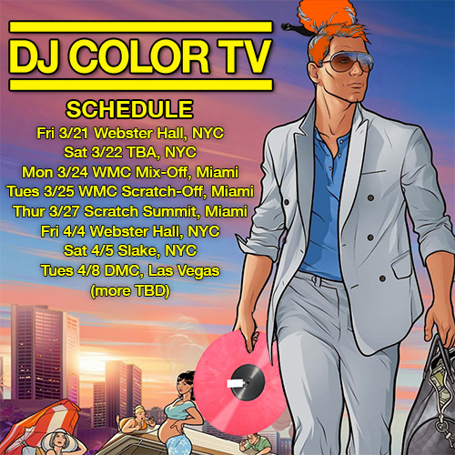 DJ Color TV in Miami