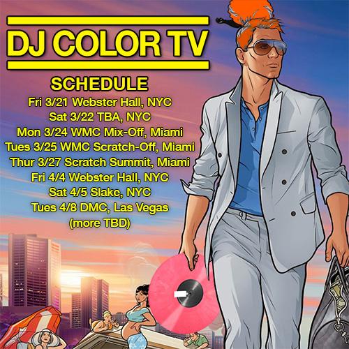DJ Color TV in Miami