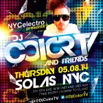 TONIGHT! at Solas NYC, DJ Ease and DJ Color TV